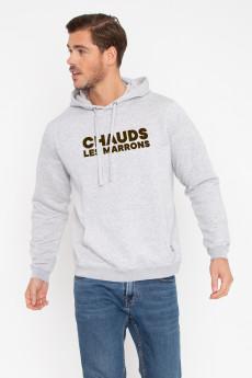 Hoodie CHAUDS LES MARRONS
