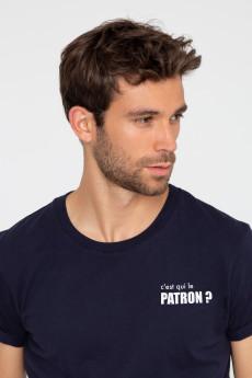 T-shirt C'EST QUI LE PATRON ? French Disorder
