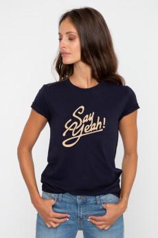 T-shirt SAY YEAH French Disorder
