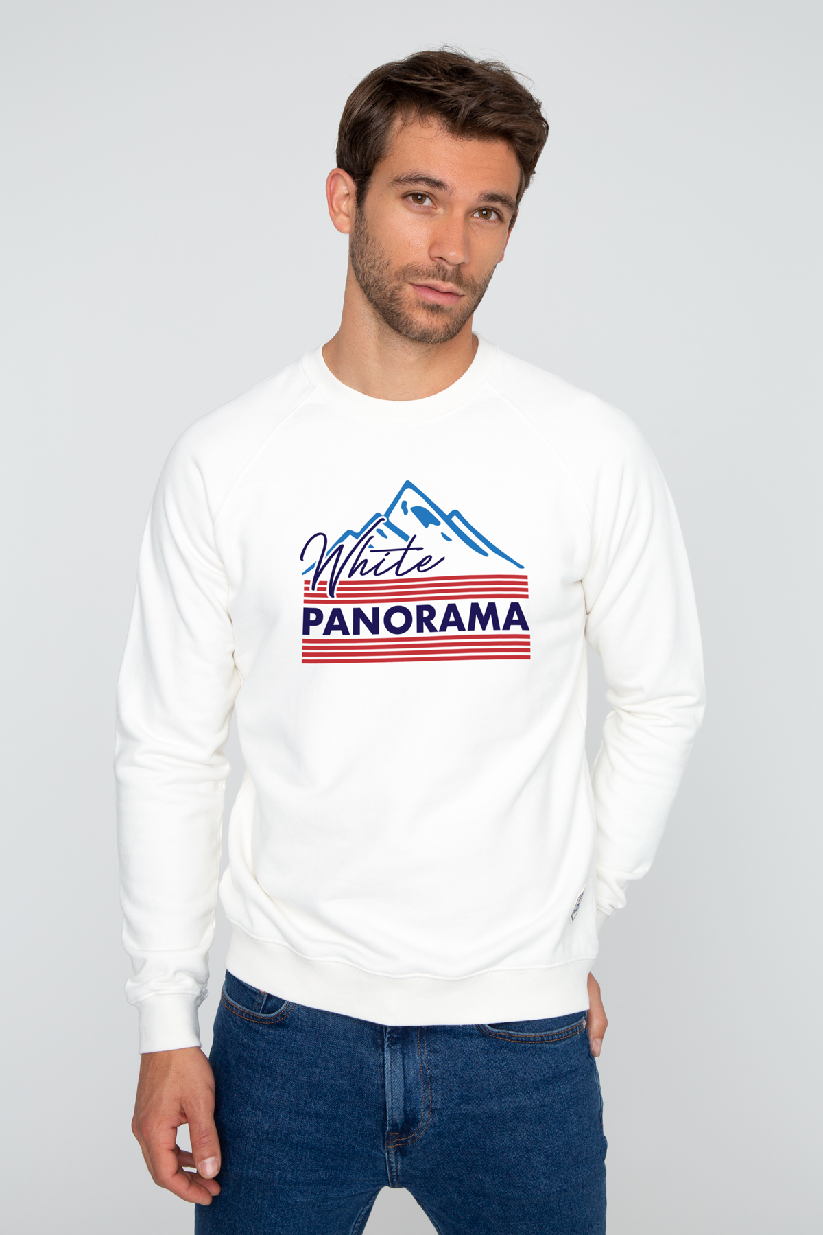 Sweat WHITE PANORAMA French Disorder