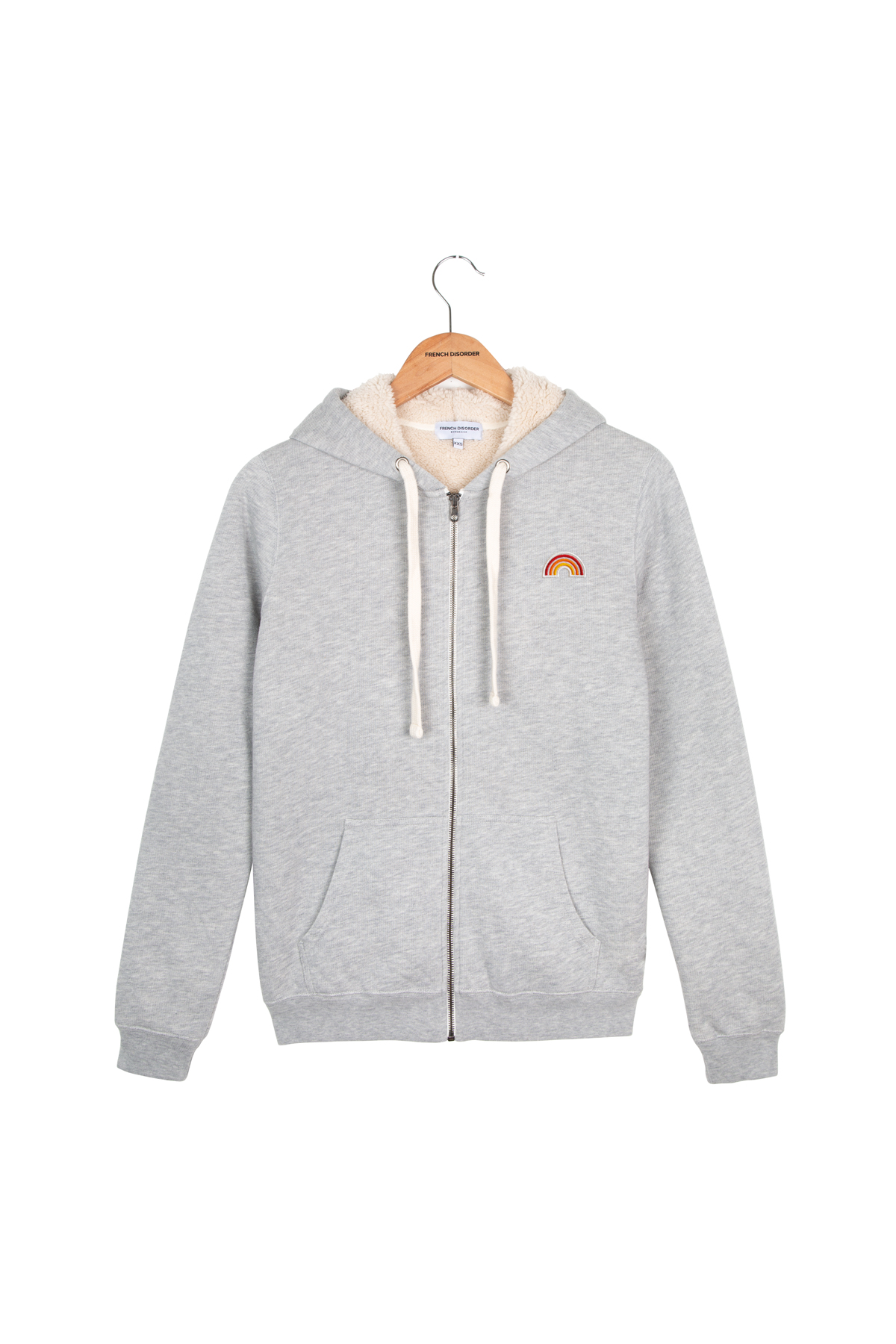 Photo de VESTE Hoodie Sherpa Robin Homme chez French Disorder