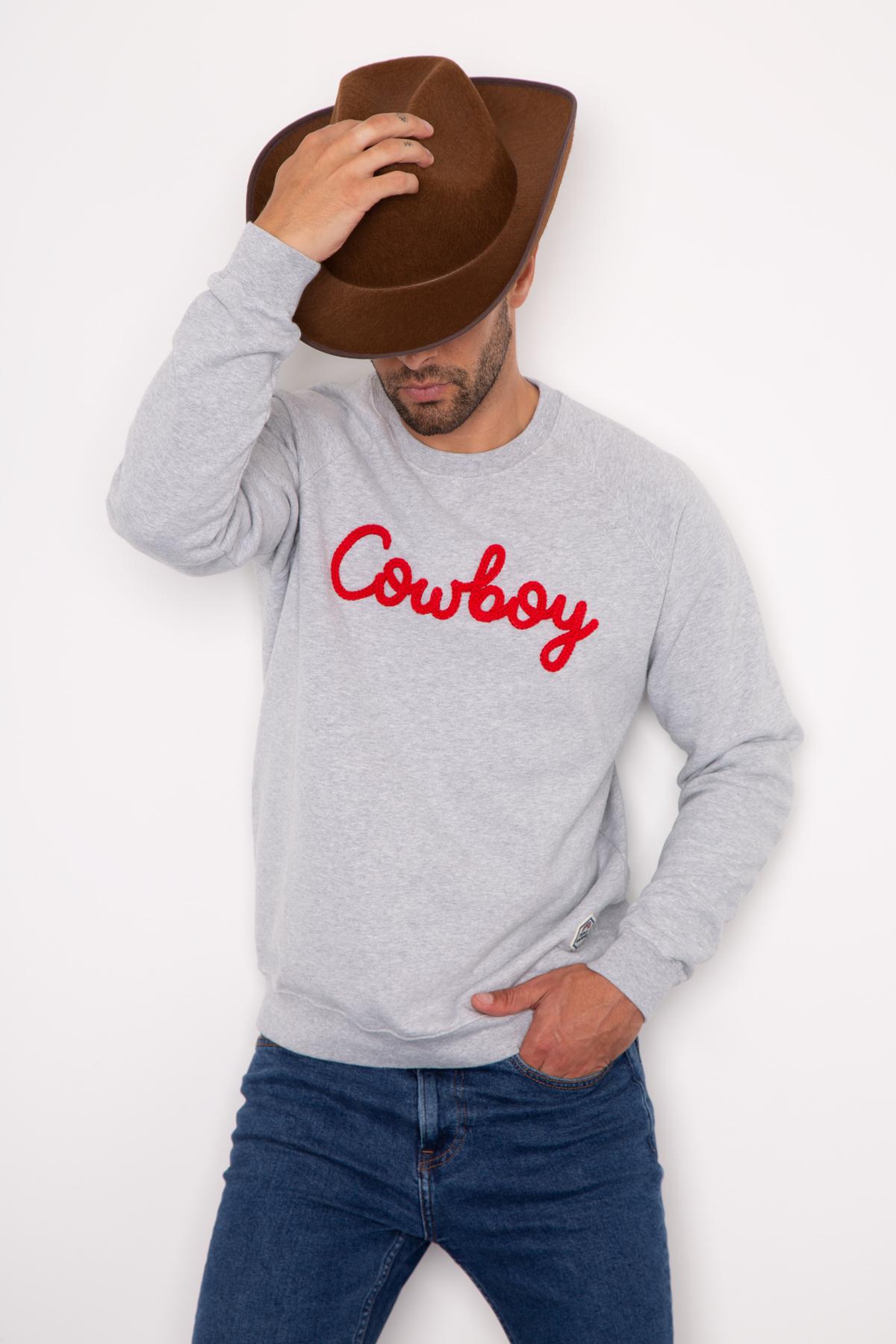 Sweat COWBOY (tricotin)