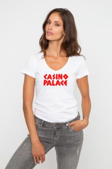 Tshirt col V CASINO PALACE
