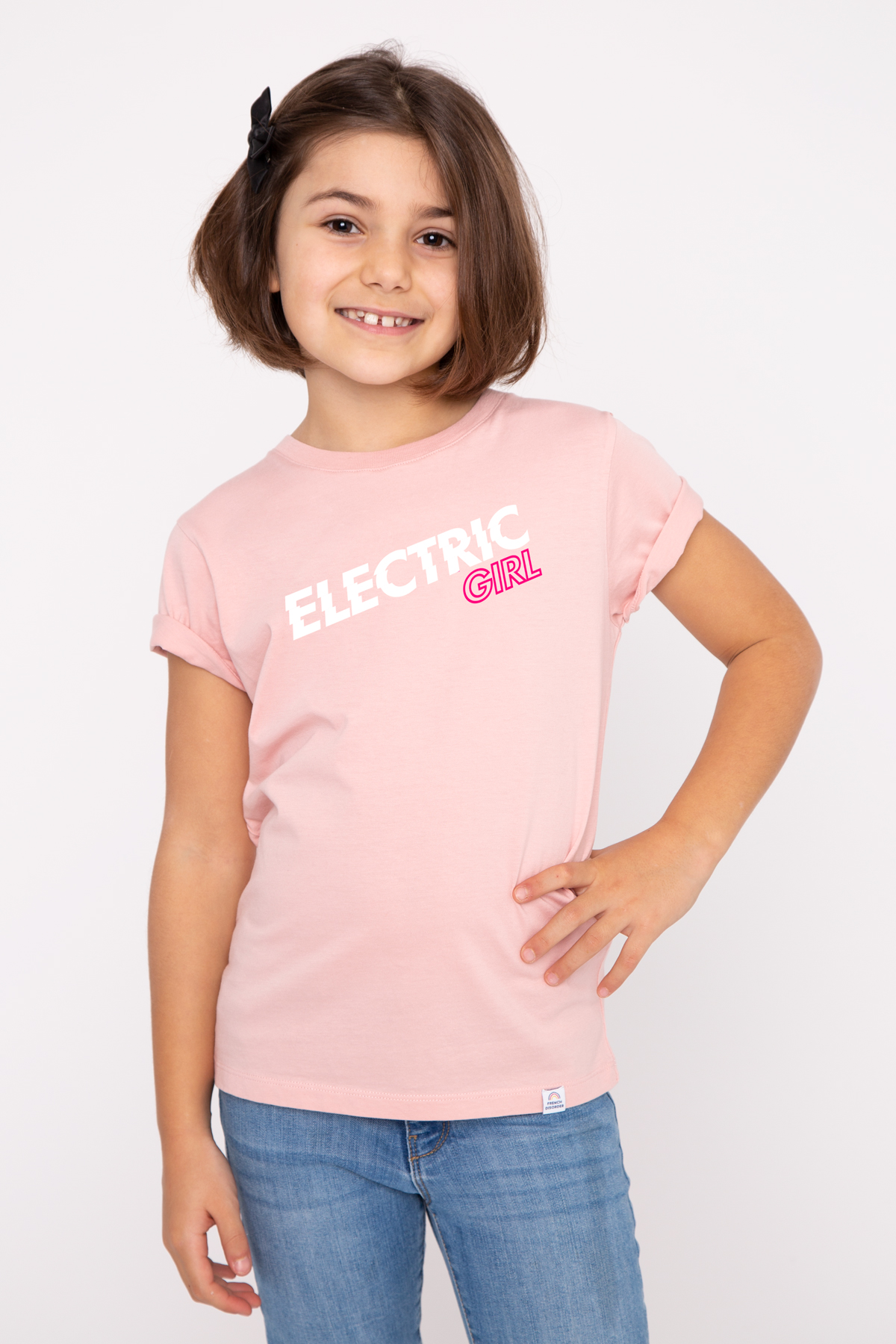 Tshirt ELECTRIC GIRL French Disorder