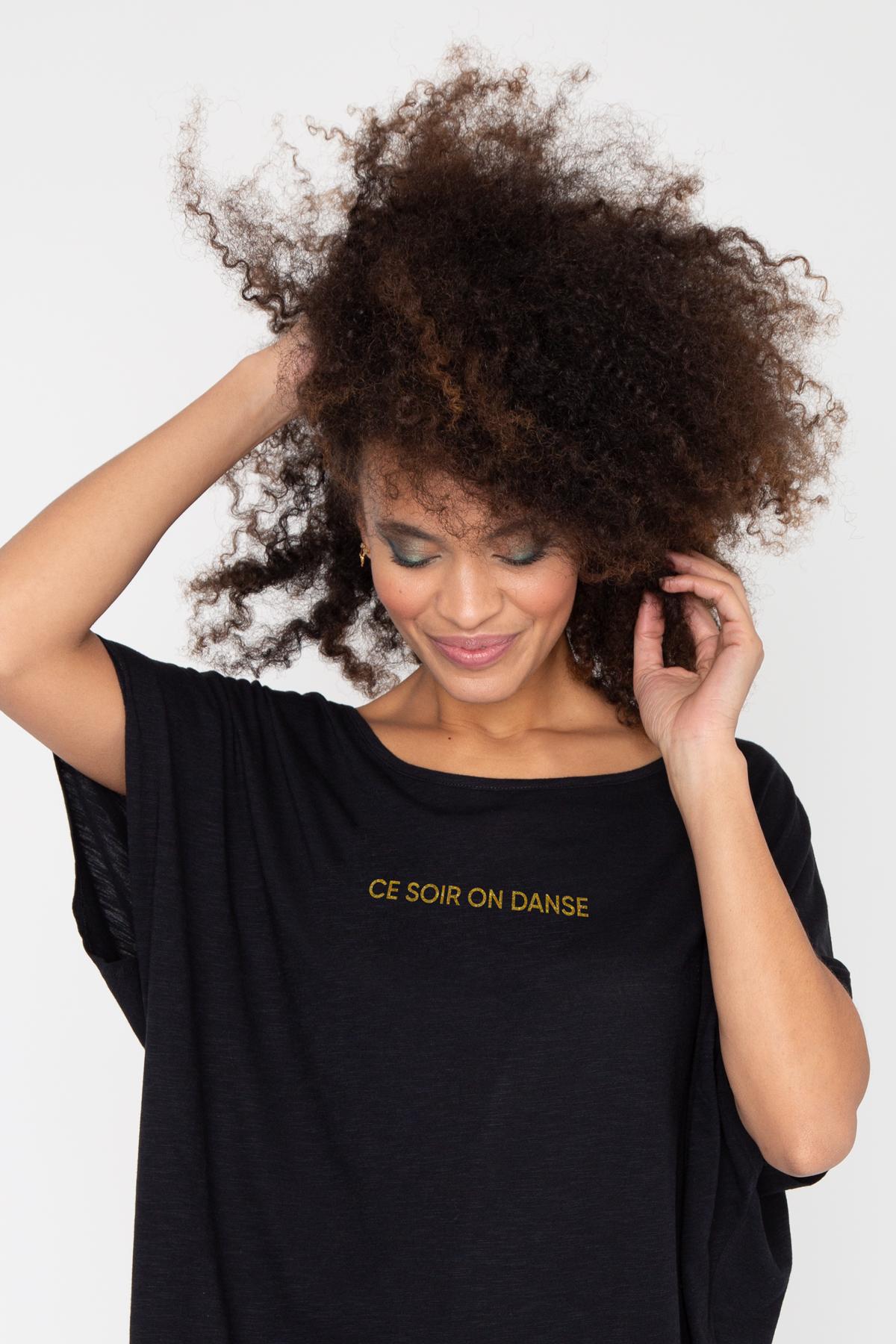 Photo de New femme Robe flammée CE SOIR ON DANSE chez French Disorder