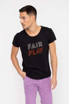 Tshirt flammé FAIR PLAY French Disorder