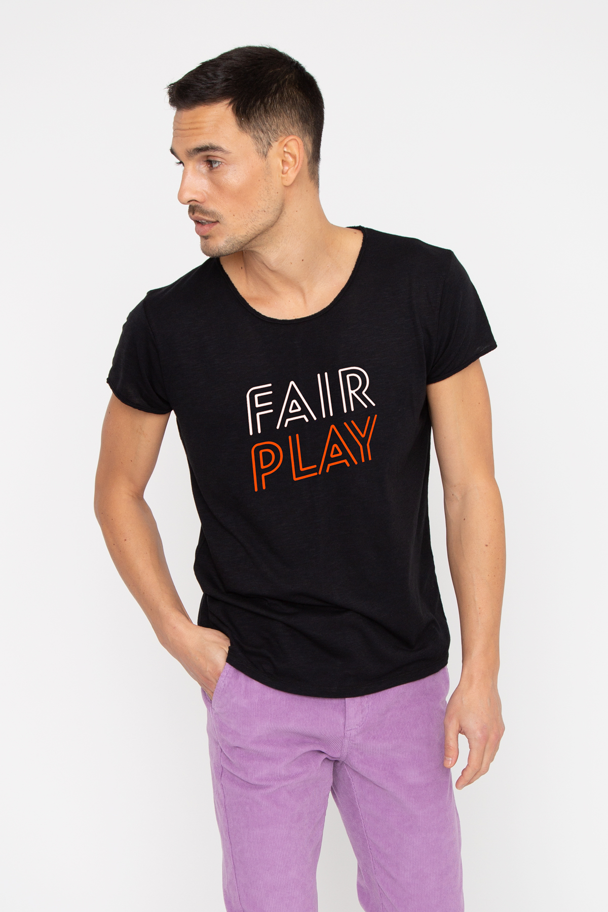 Tshirt flammé FAIR PLAY French Disorder
