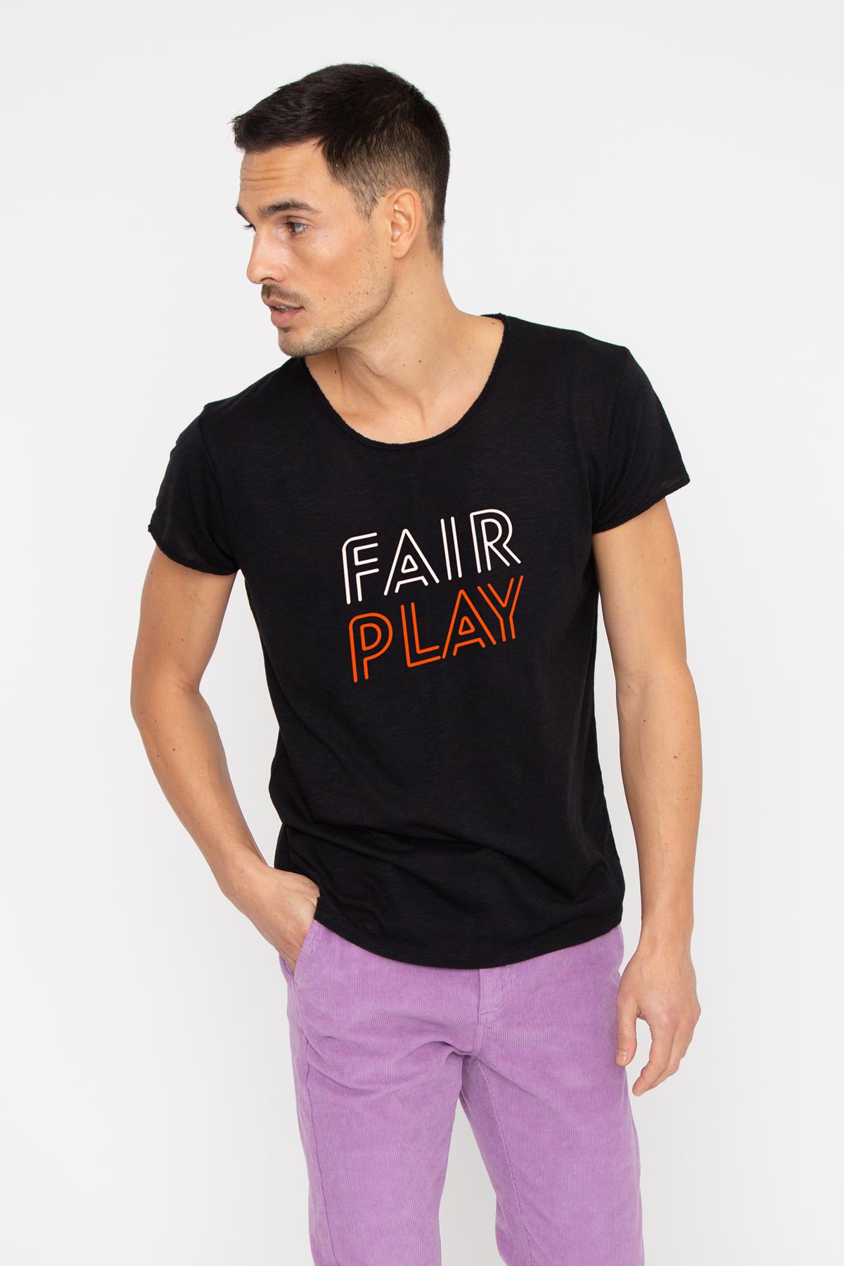Tshirt flammé FAIR PLAY