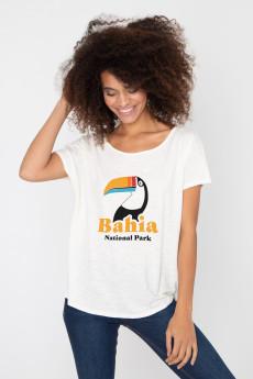 Photo de T-SHIRTS FLAMMÉS Tshirt flammé BAHIA chez French Disorder