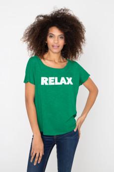 Photo de T-SHIRTS FLAMMÉS Tshirt flammé RELAX chez French Disorder