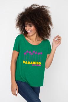 Photo de T-SHIRTS FLAMMÉS Tshirt flammé PARADISO chez French Disorder