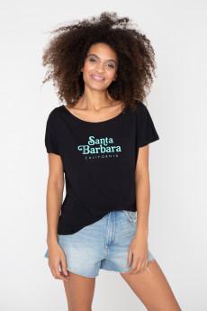 Tshirt flammé SANTA BARBARA