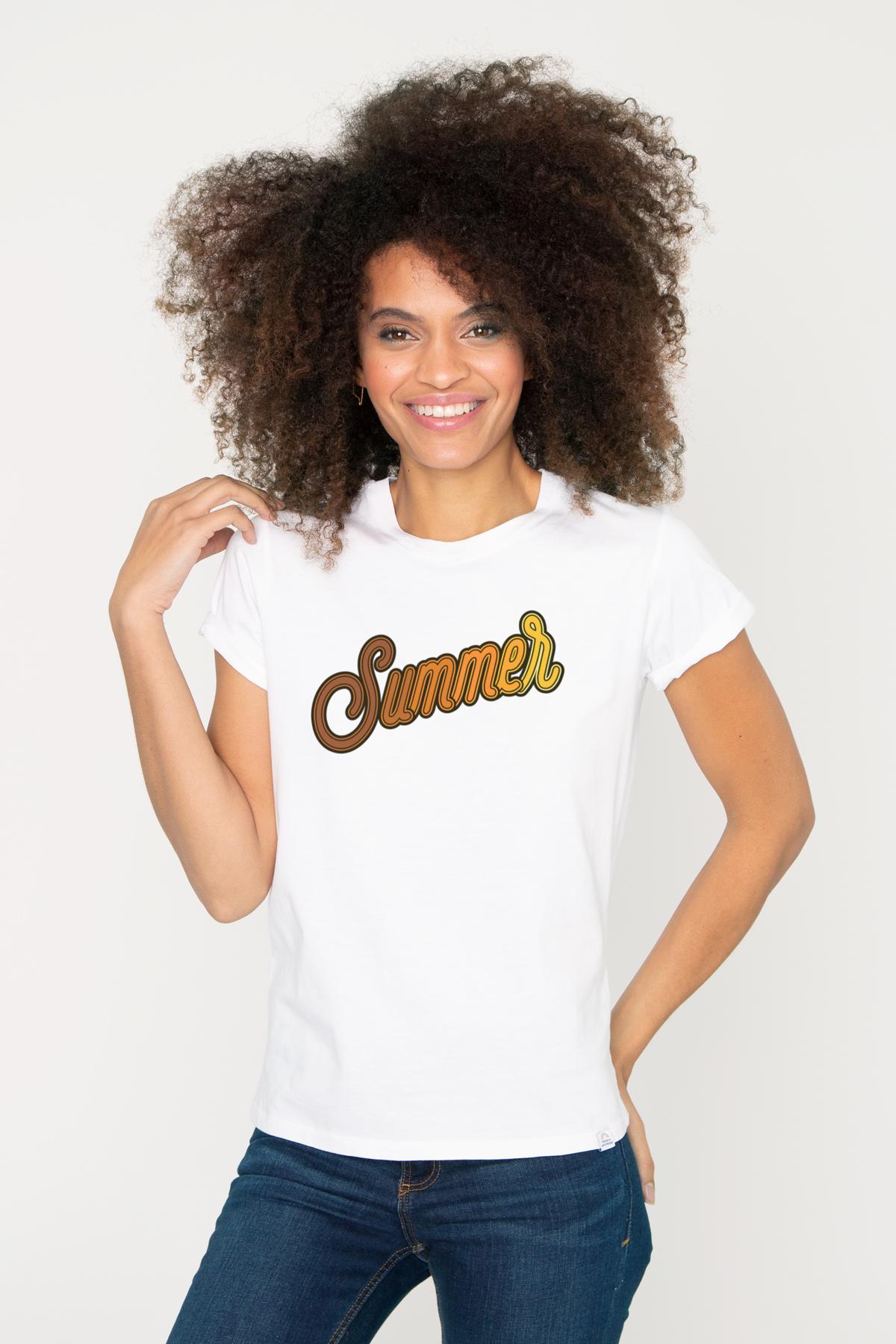 Photo de T-SHIRTS COL ROND Tshirt SUMMER chez French Disorder