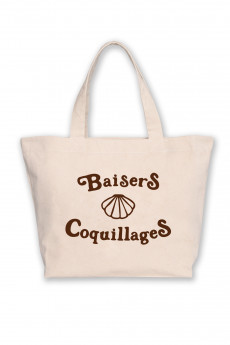 BeachBag XL BAISERS & COQUILLAGES