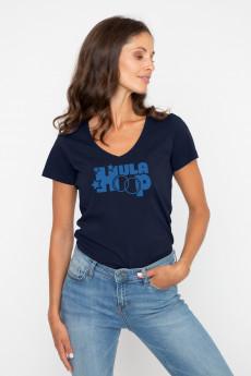 Tshirt col V HULA HOOP