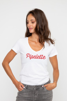 Tshirt col V PIPELETTE