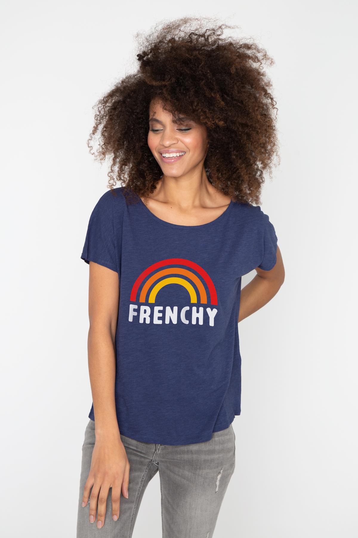 Photo de T-SHIRTS FLAMMÉS Tshirt flammé FRENCHY chez French Disorder