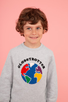 Photo de SWEATSHIRTS Sweat GLOBE TROTTER chez French Disorder