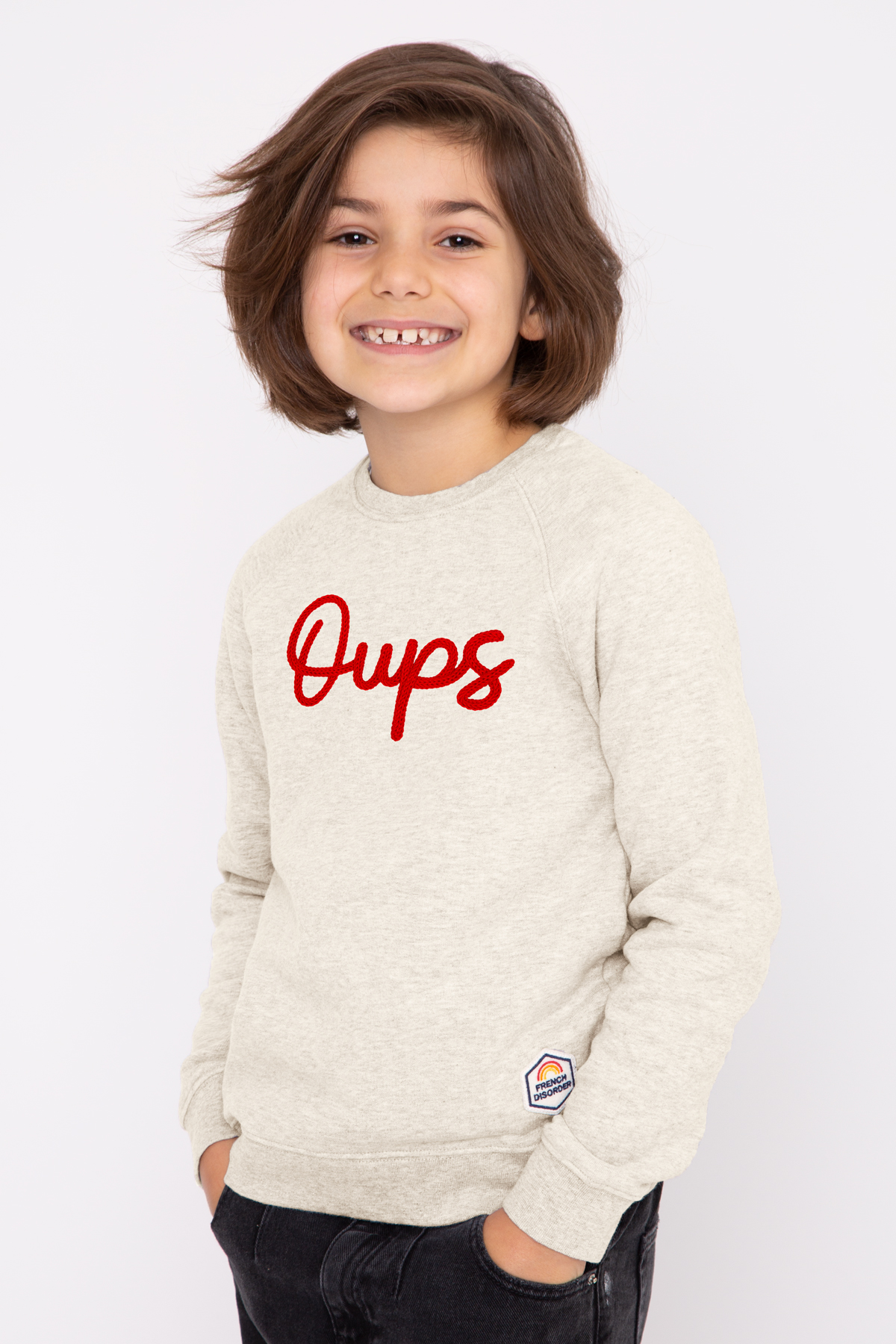 Sweat OUPS tricotin French Disorder