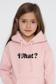 Photo de SWEATS À CAPUCHE Hoodie Kids WHAT? chez French Disorder