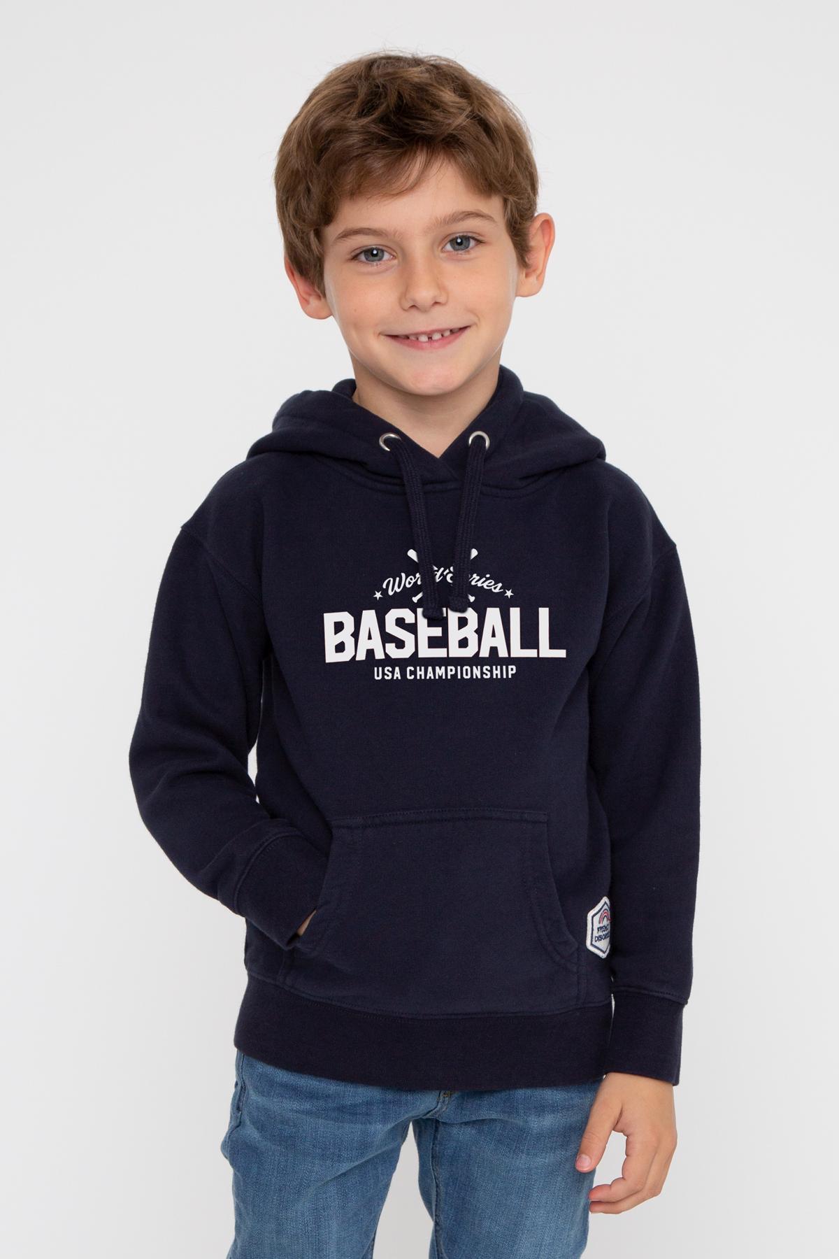 Photo de SWEATS À CAPUCHE Hoodie Kids BASEBALL chez French Disorder