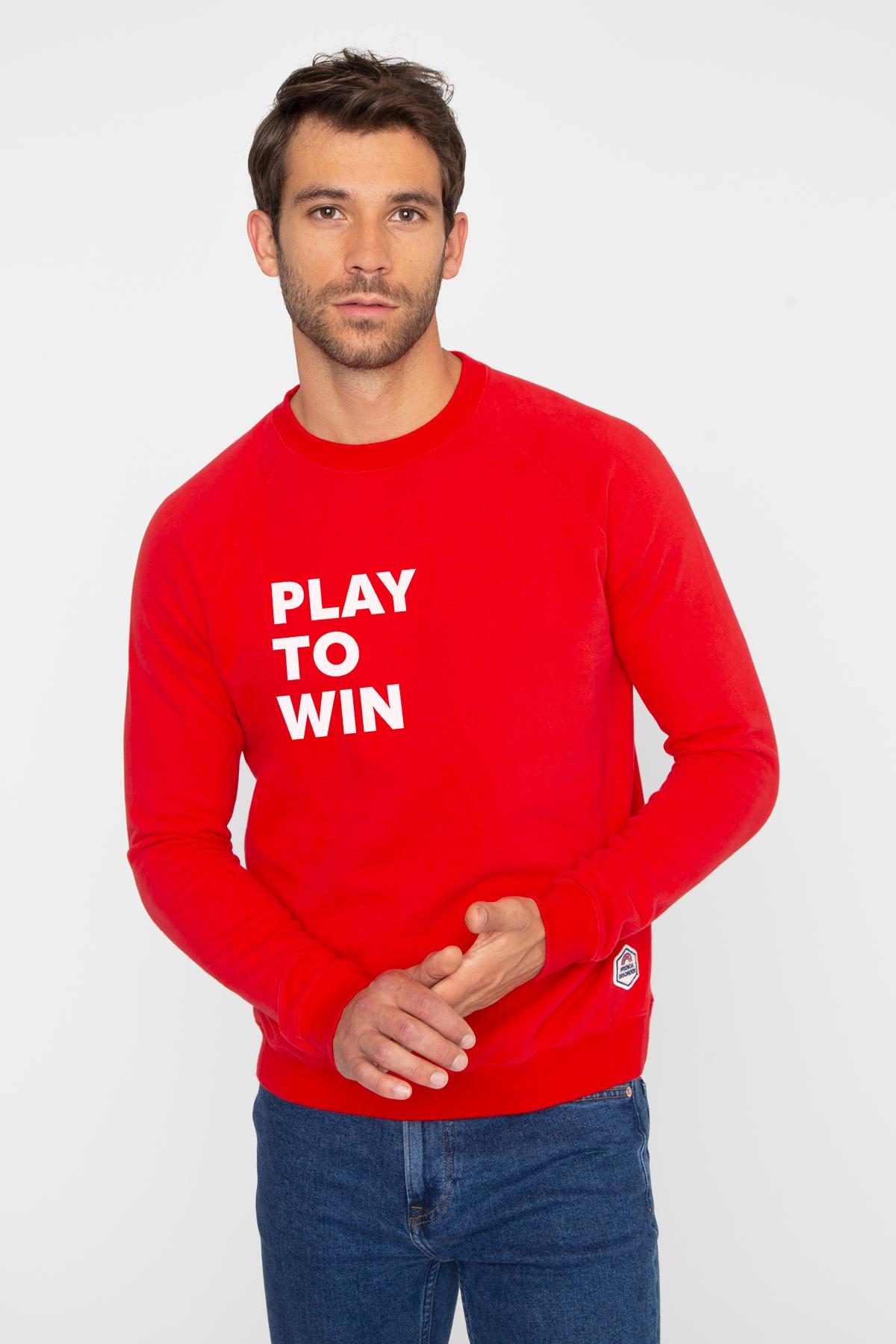 Photo de SWEATS Sweat PLAY TO WIN chez French Disorder