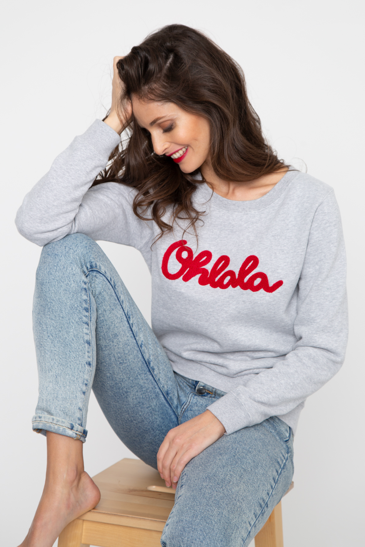 Photo de SWEATS Sweat OHLALA broderie chez French Disorder