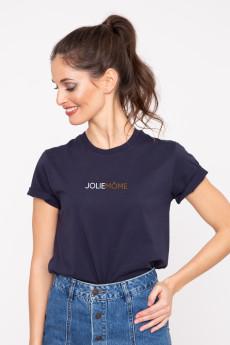 Photo de T-SHIRTS COL ROND Tshirt JOLIEMÔME chez French Disorder