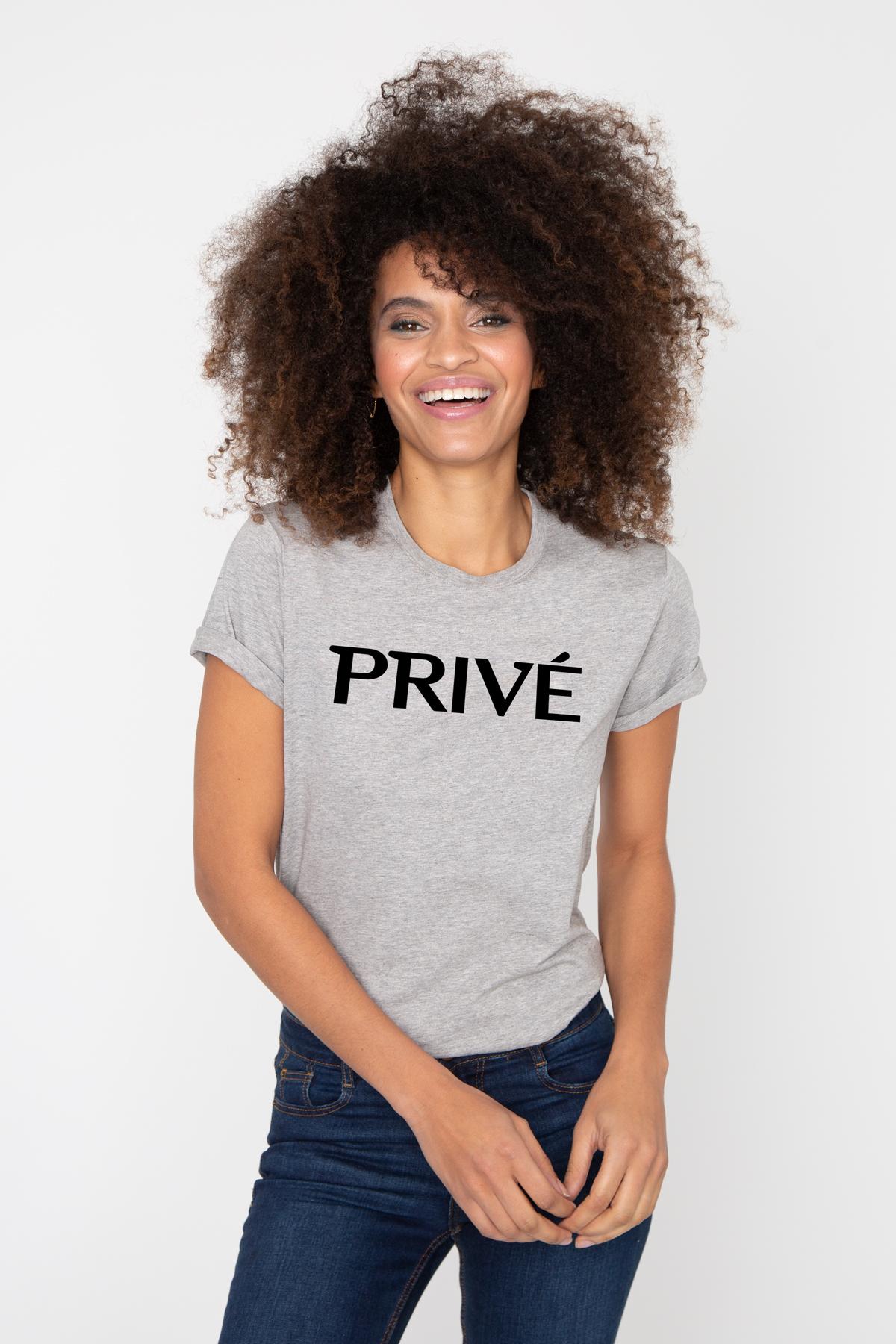 Photo de T-SHIRTS COL ROND Tshirt PRIVE chez French Disorder