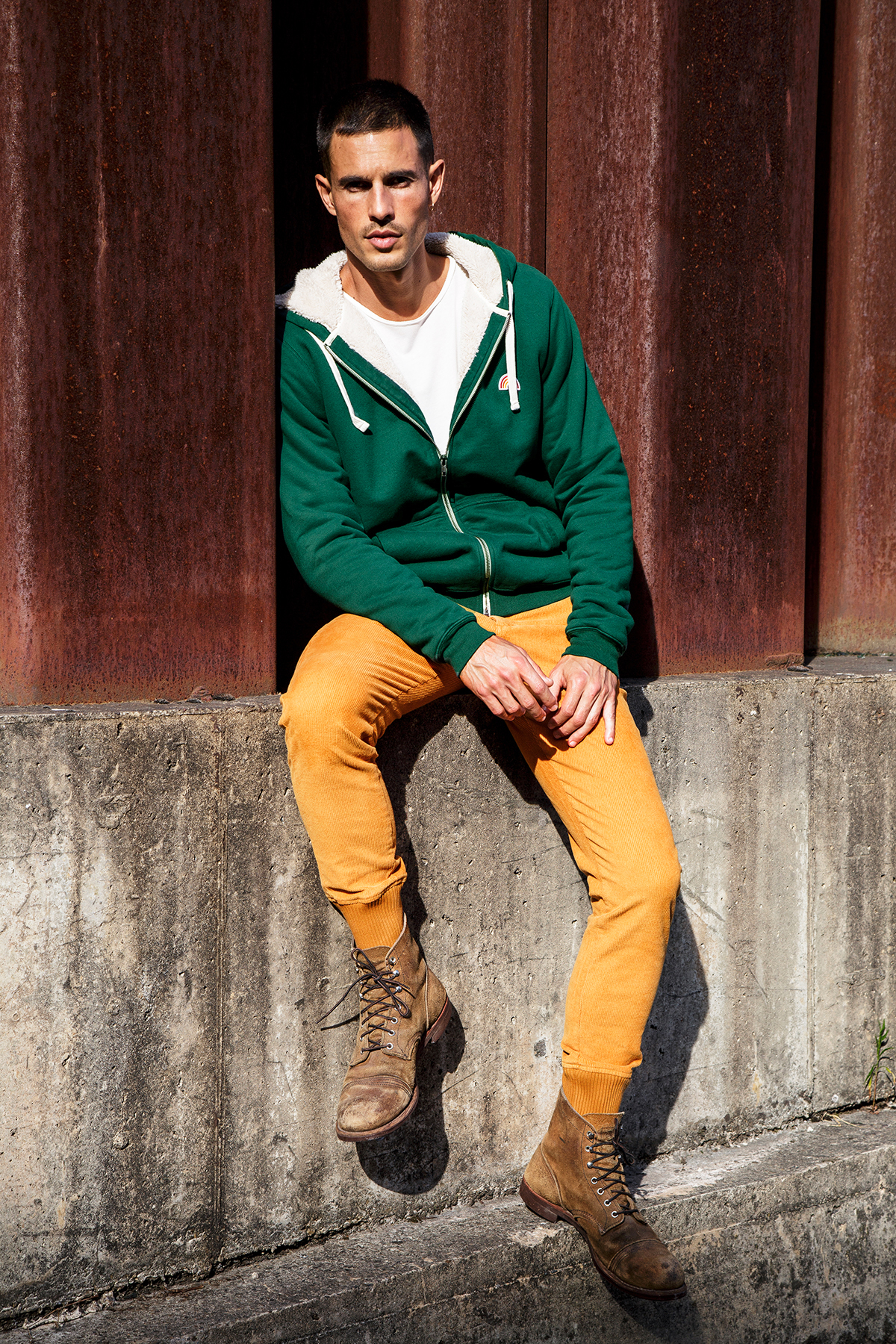Photo de VESTES Hoodie Sherpa Robin Homme chez French Disorder