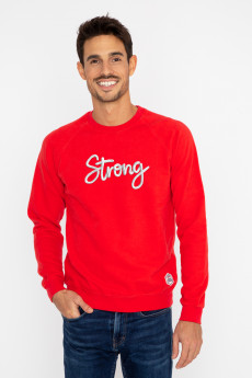 Photo de SWEATS Sweat STRONG tricotin chez French Disorder