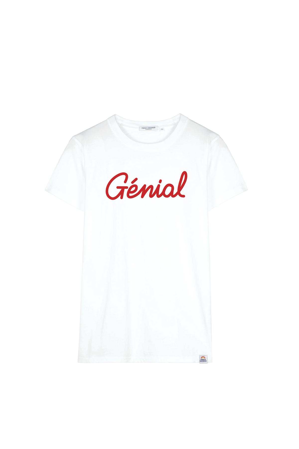 Tshirt GENIAL French Disorder