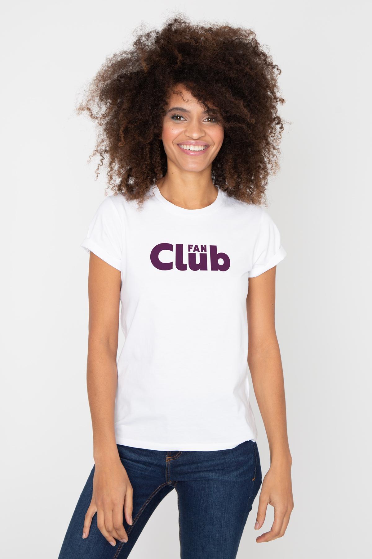 Photo de T-SHIRTS COL ROND Tshirt FAN CLUB chez French Disorder