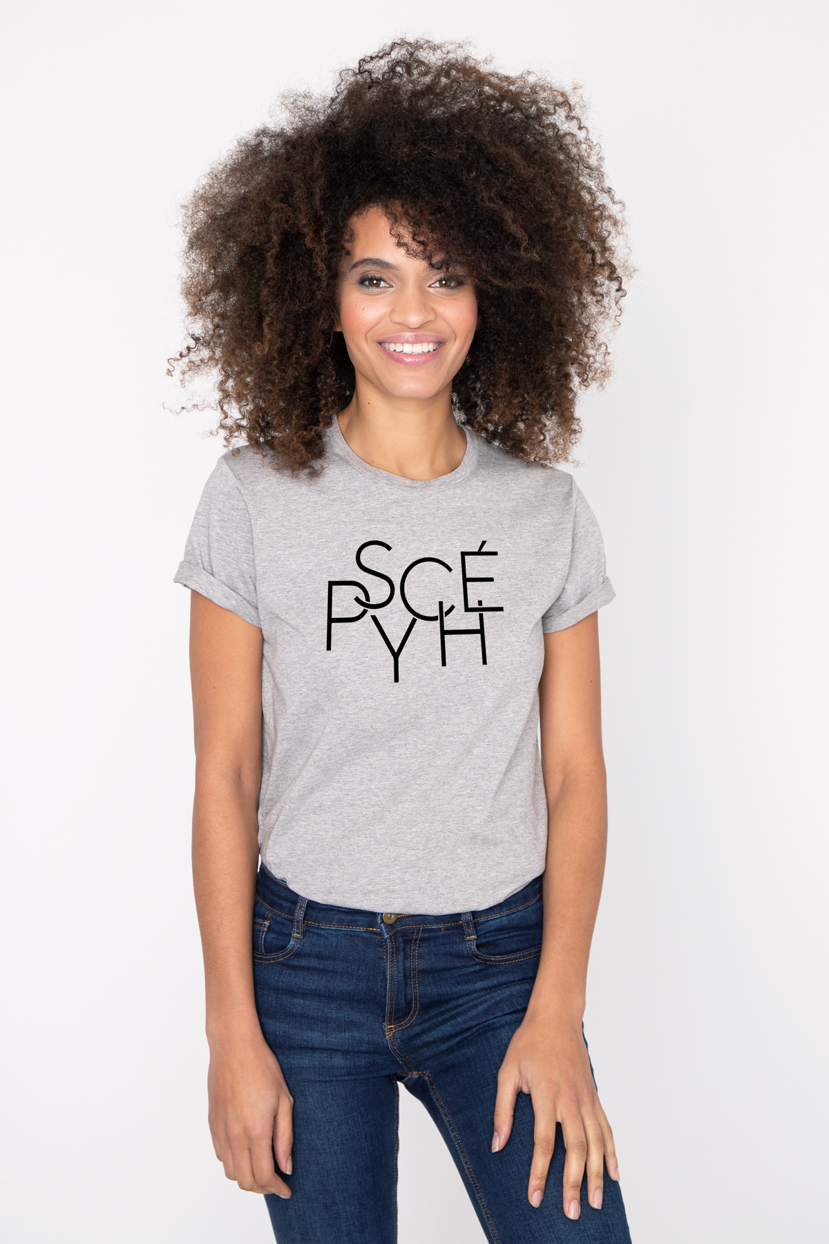 Photo de T-SHIRTS COL ROND Tshirt PSYCHE chez French Disorder
