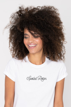 Photo de T-SHIRTS COL ROND Tshirt SPOILED ROTTEN chez French Disorder