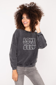 Photo de SWEATS Sweat LOVE YOURSELF chez French Disorder