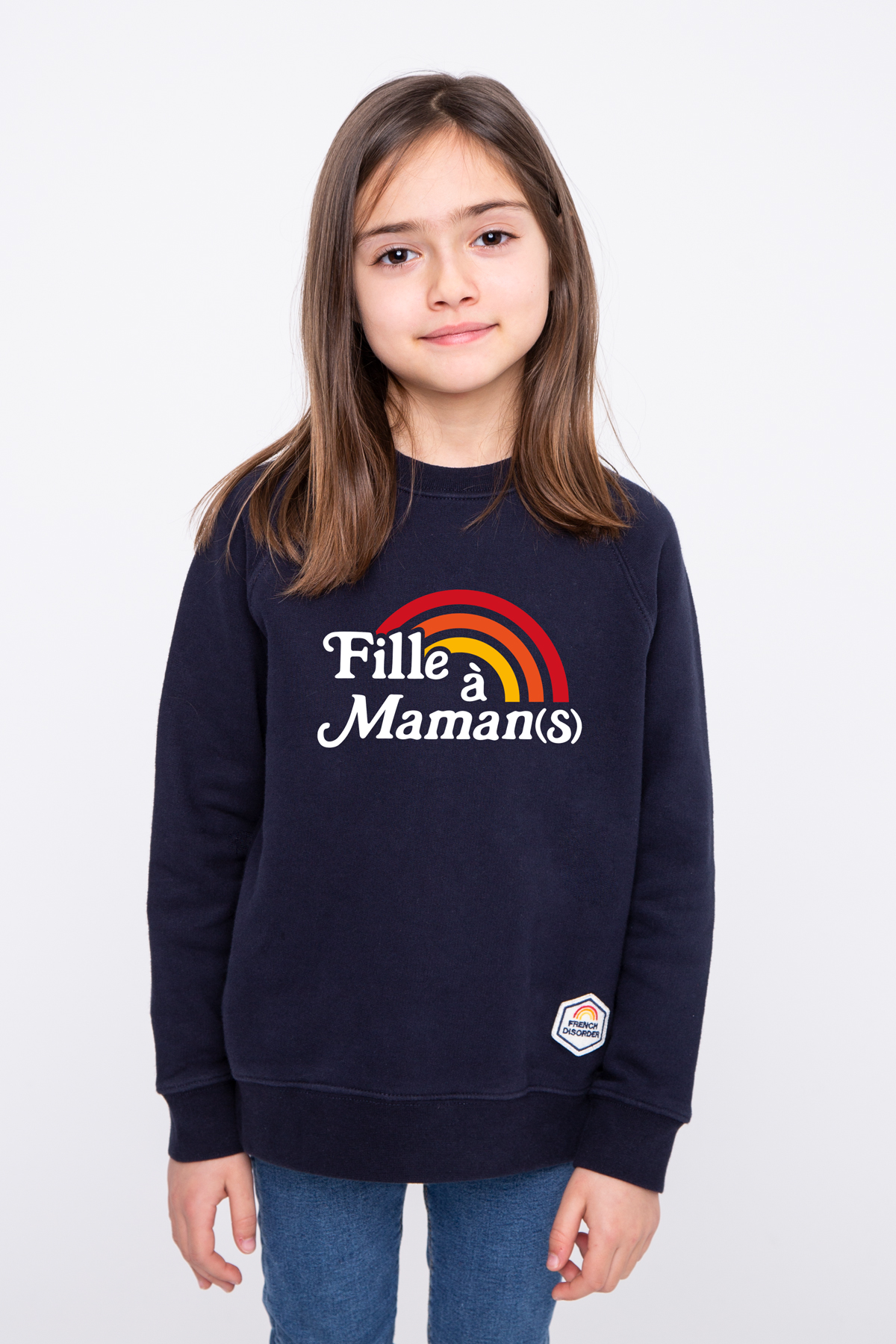 Sweat enfant FILLE A MAMAN(S) French Disorder