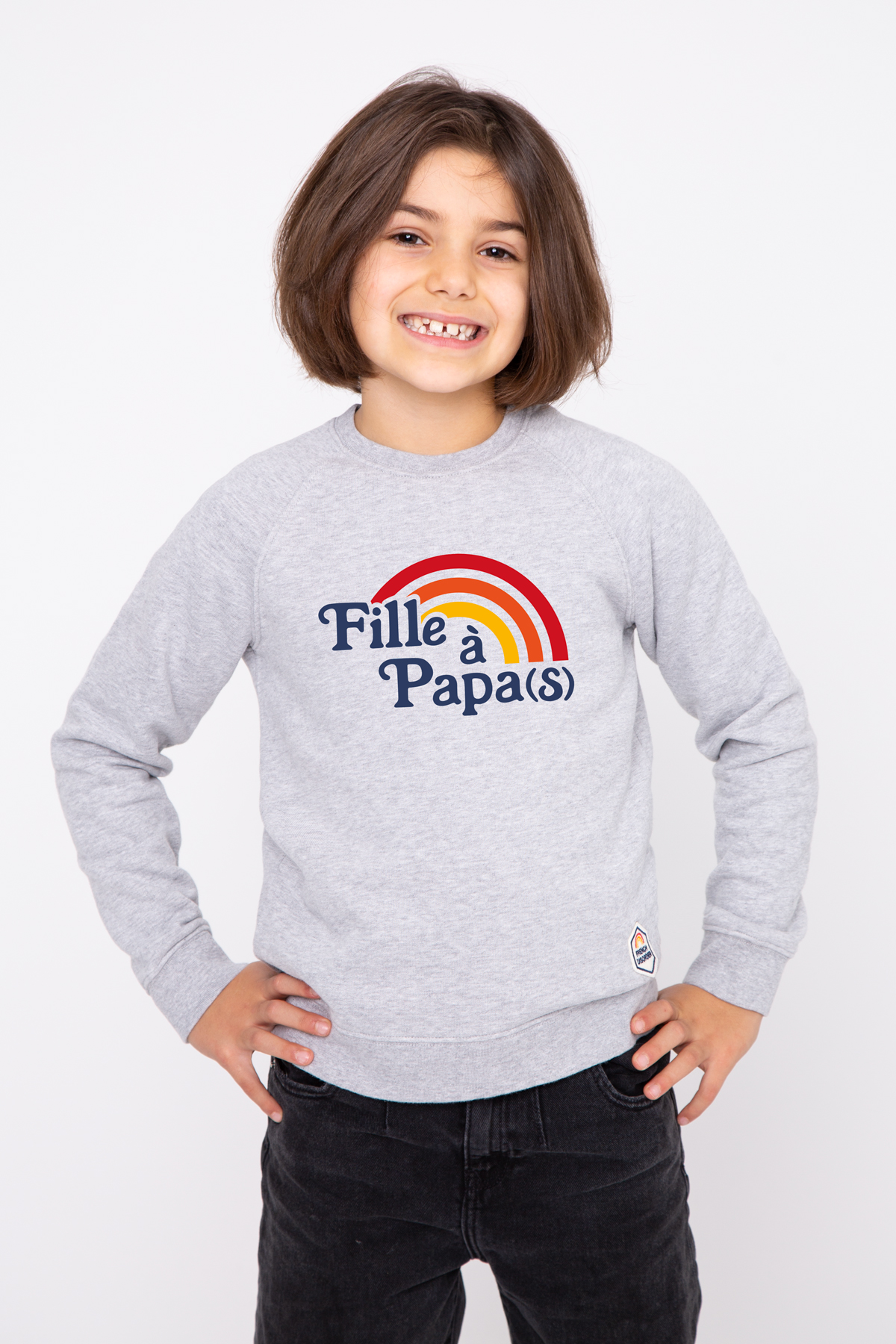 Sweat enfant FILLE A PAPA(S) French Disorder