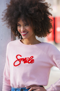 Sweat SMILE BRODERIE